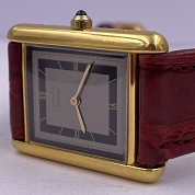 cartier tank must gold plated quartz 27080 cal 81 quartz 1