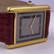 cartier tank must gold plated quartz 27080 cal 81 quartz 4