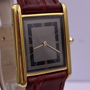 cartier tank must gold plated quartz 27080 cal 81 quartz 5