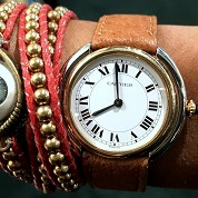 cartier vintage 1978 vendome meca 2 tones gold mint 1