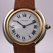 cartier vintage 1978 vendome meca 2 tones gold mint 3