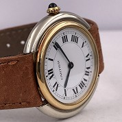 cartier vintage 1978 vendome meca 2 tones gold mint 5