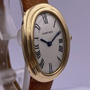 cartier vintage baignoire classic  not mini  gold mechanical 2