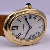 cartier vintage baignoire classic  not mini  gold mechanical 3