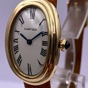 cartier vintage baignoire classic  not mini  gold mechanical 4