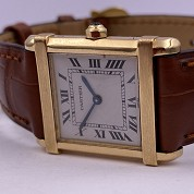 cartier vintage tank chinoise quartz gold 18ct 2