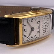 hamilton vintage doctors watch gold filled a 6803 caliber 980 b 2