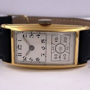 hamilton vintage doctors watch gold filled a 6803 caliber 980 b 4