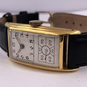 hamilton vintage doctors watch gold filled a 6803 caliber 980 b 5