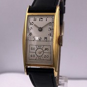 hamilton vintage doctors watch gold filled a 6803 caliber 980 b 6