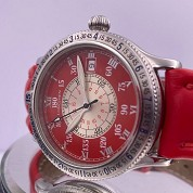 longines modern 04 2000 hour angle red 38mm special series lindbergh auto l2 617 4 full set 4