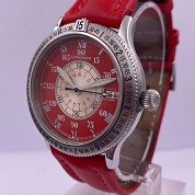 longines modern 04 2000 hour angle red 38mm special series lindbergh auto l2 617 4 full set 5