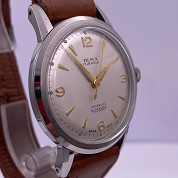 olma vintage 1956 calatrava manual rewind eta 2370 with original warranty paper 2