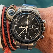 omega modern discontinued 04 2018 speedmaster chronograph moon watch ref 31130423001005 full set 1