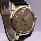 omega vintage 1952 seamaster calendar automatic bumper date honeycumb dial ref 2627 8 sc cal 353 2
