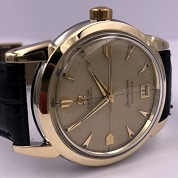 omega vintage 1952 seamaster calendar automatic bumper date honeycumb dial ref 2627 8 sc cal 353 3