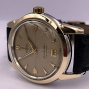 omega vintage 1952 seamaster calendar automatic bumper date honeycumb dial ref 2627 8 sc cal 353 5