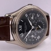 patek philippe modern 2001 perpetuelle grey gold ref 5038 cal 240q auto with papers 2