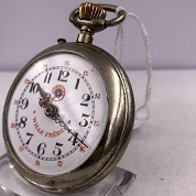 roskopf and co vintage pocket watch montre de poche willie freres  30353 4