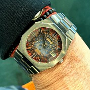 technos vintage kaiser tigon automatic steel 1