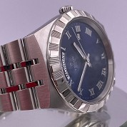 tudor modern 2021 royal blue 41mm day date 28600 integrated bracelet full set 2