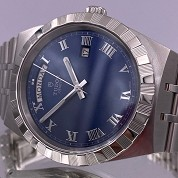 tudor modern 2021 royal blue 41mm day date 28600 integrated bracelet full set 4