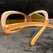 vintage versace 1980s 1990s sunglasses nos new old stock never worn mod 739 coloris 359 orange 3