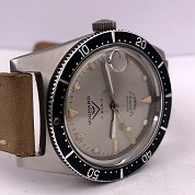 voumard vintage skin french diver automatic steel screwed crown super squale 2