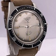 voumard vintage skin french diver automatic steel screwed crown super squale 3