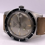 voumard vintage skin french diver automatic steel screwed crown super squale 4