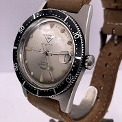 voumard vintage skin french diver automatic steel screwed crown super squale 5