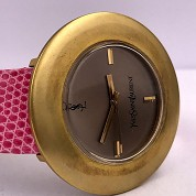 yves saint laurent vintage ysl seventies rare mechanical gold plated 2